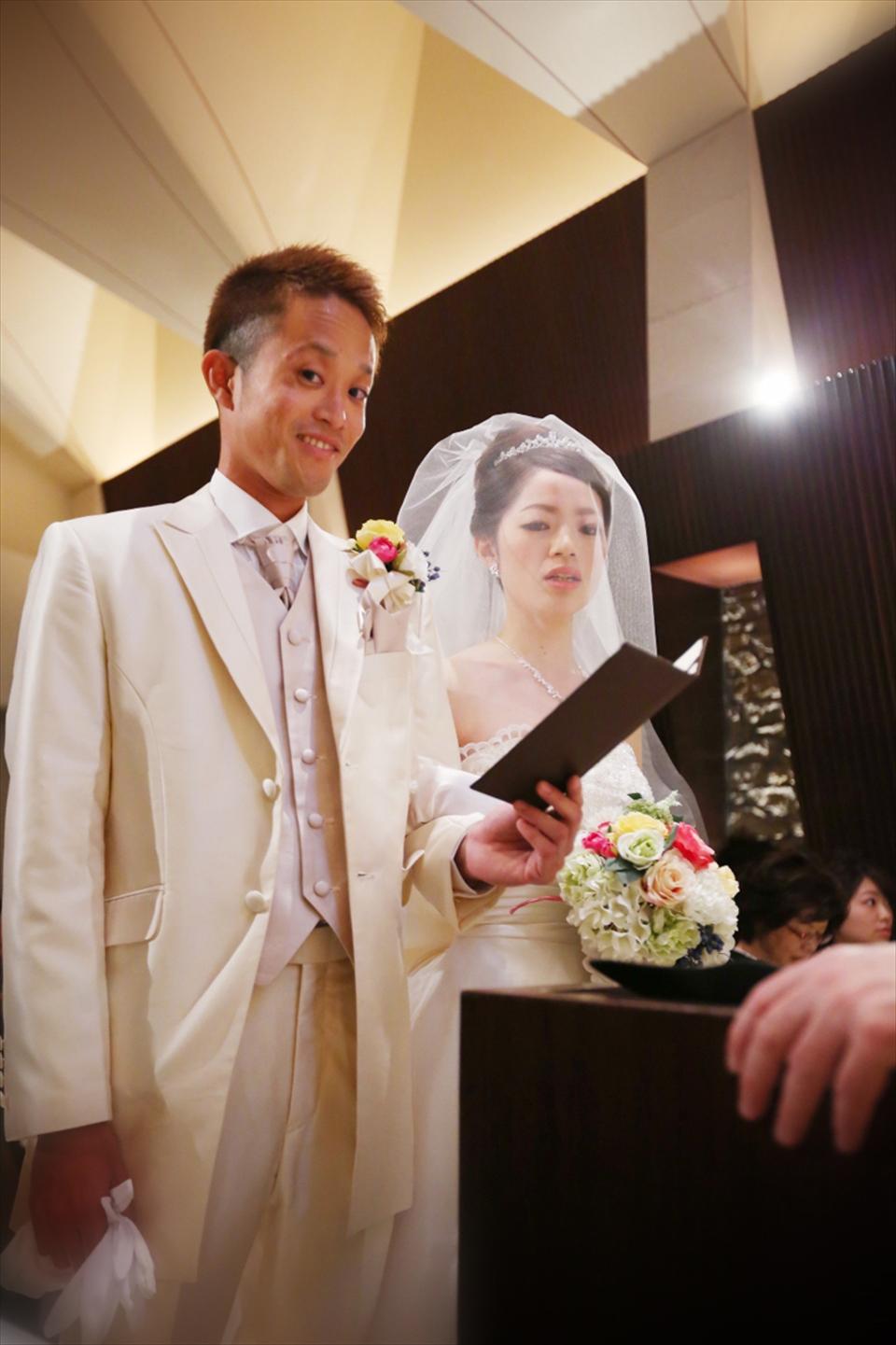 たくさんのゲストに囲まれて 10 29big wedding アージェント
